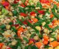 Brown Rice, Bean and Vegetable Salad